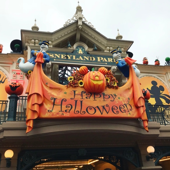 Our trip to Disneyland Paris - Halloween 2018