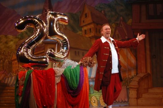 Coggins in Panto