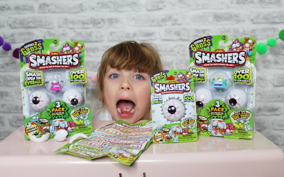 Smashers series 2 review