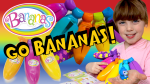 Bananas Toys Collectibles! Peelable Bananas with a Surprise Collectible Crushie!