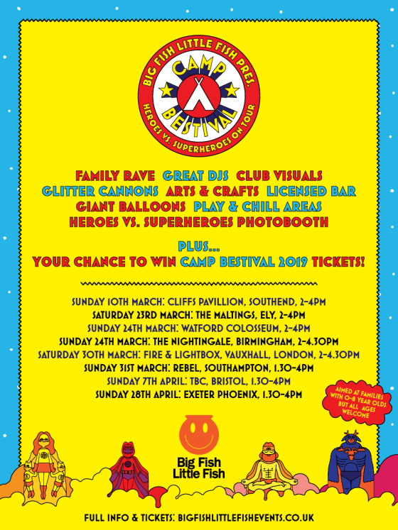 Big Fish Little Fish Camp Bestival 2019