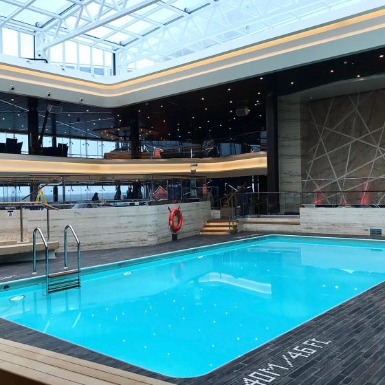 MSC Bellissima Pools