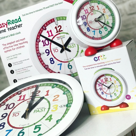 Easy Read Time Teacher Clocks Review
