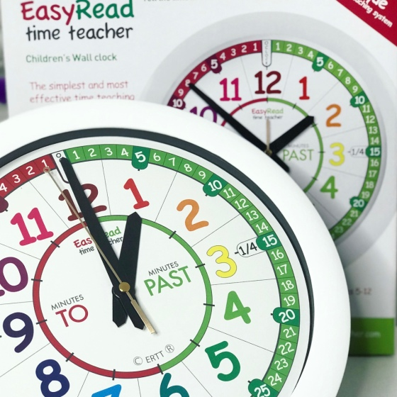 Easy Read Time Teacher Clocks Review