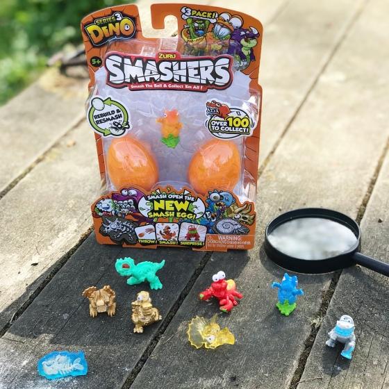 Smashers Dino Egg Hunt