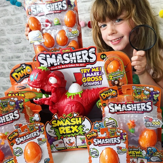 Smashers Dino Eggs Review