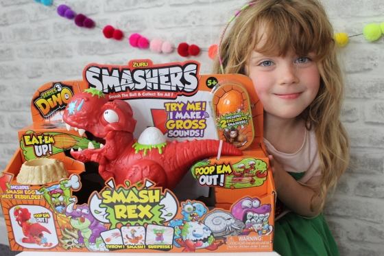 Smashers Smash Rex Play Set Review