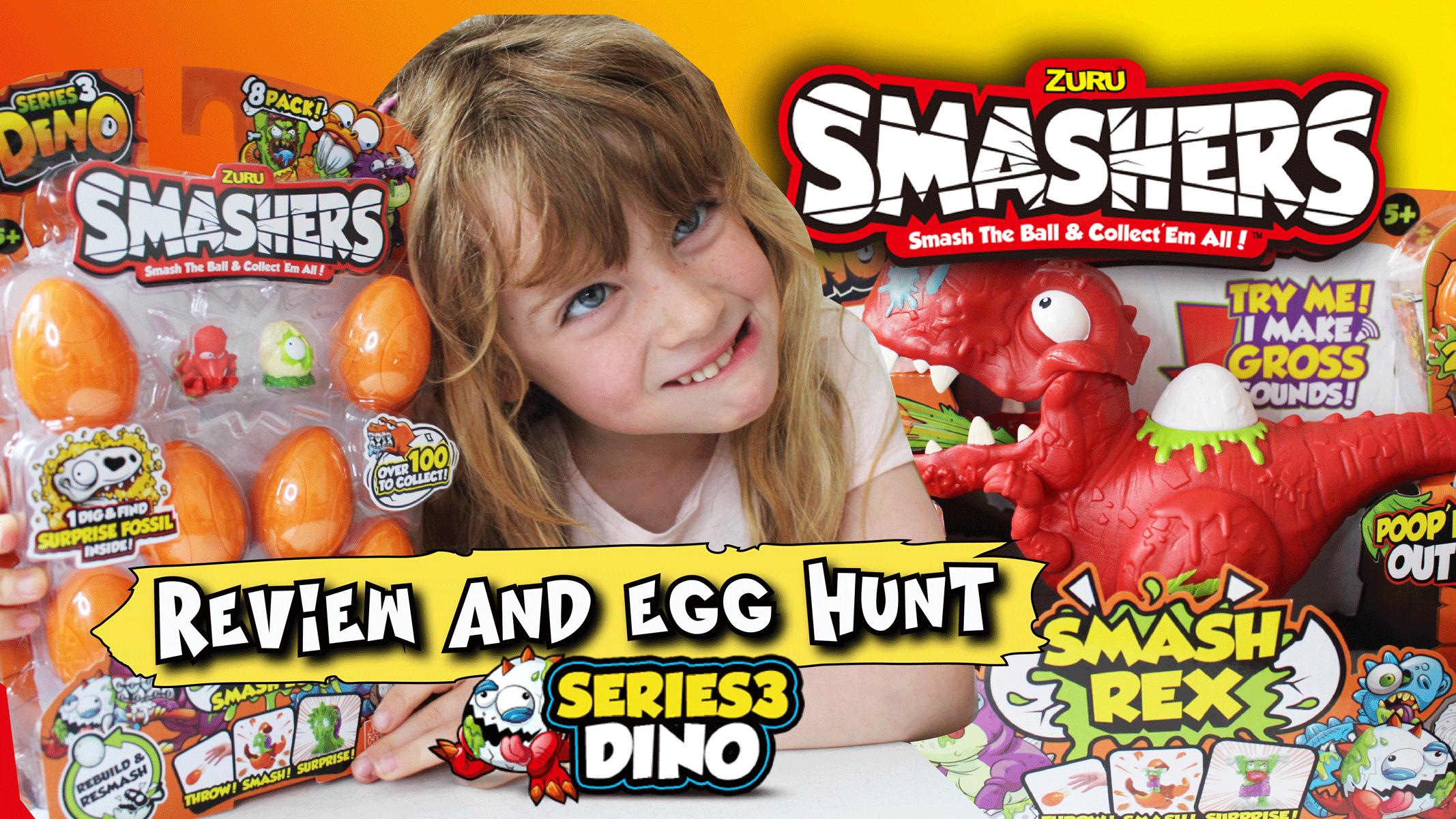 Smashers Series 3 Dinosaur & Dino Eggs Review   Dear Mummy Blog
