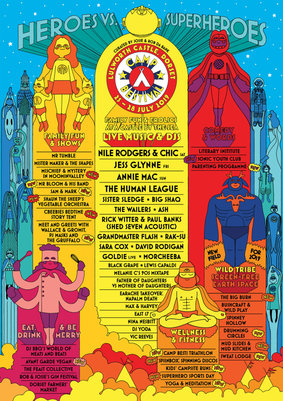Camp Bestival 2019 line-up