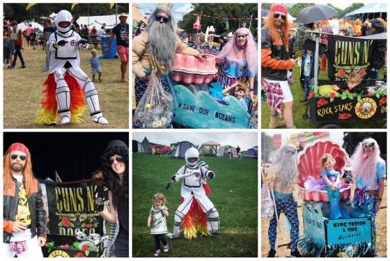 Camp Bestival Fancy Dress Ideas