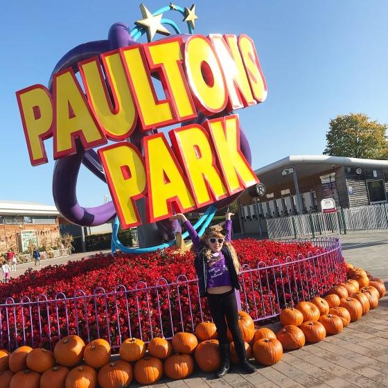 Paultons Park Halloween 2019