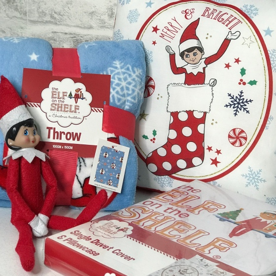 DreamTex Elf of the Shelf Bedding Review