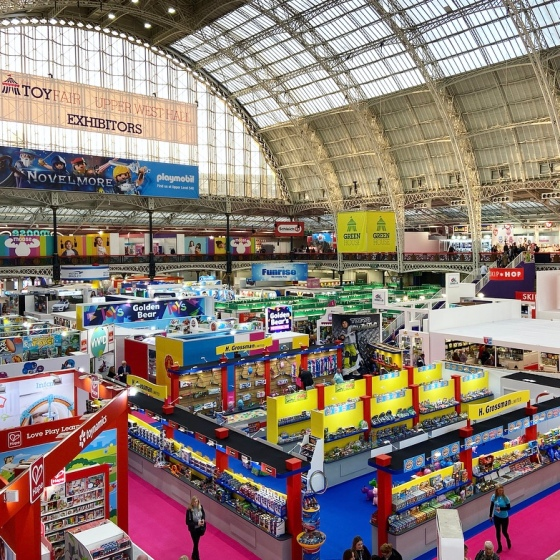 Visiting the London Toy Fair 2020