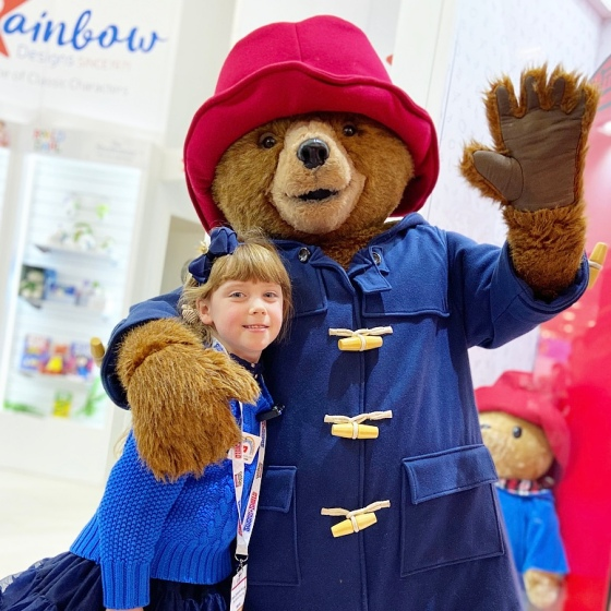 Meeting Paddington Bear