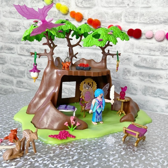 Playmobil 70001 Fairies Fairy Forest House Playset Kids Imaginative Play Toy Set