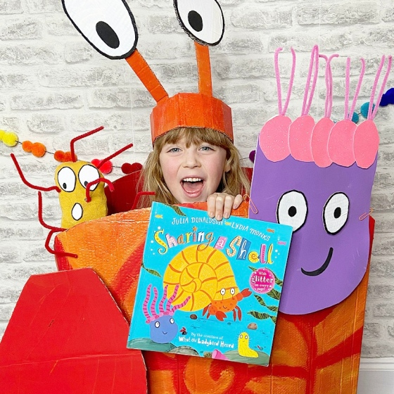 My World Book Day Costume - Sharing A Shell by Julia Donaldson