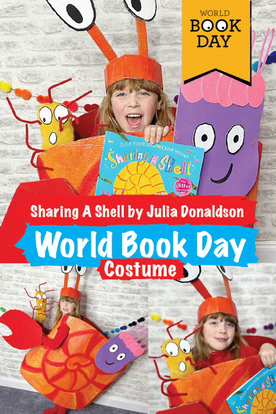 Sharing A Shell World Book Day Costume