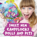 New CandyLocks Dolls and Pets
