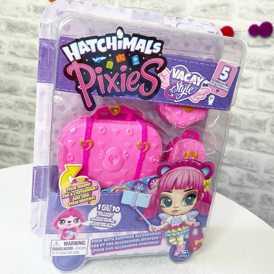 Hatchimals Pixies, Vacay Style Review