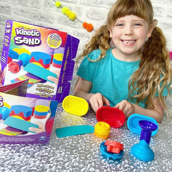 Kinetic Sand Rainbow Mix Set Review