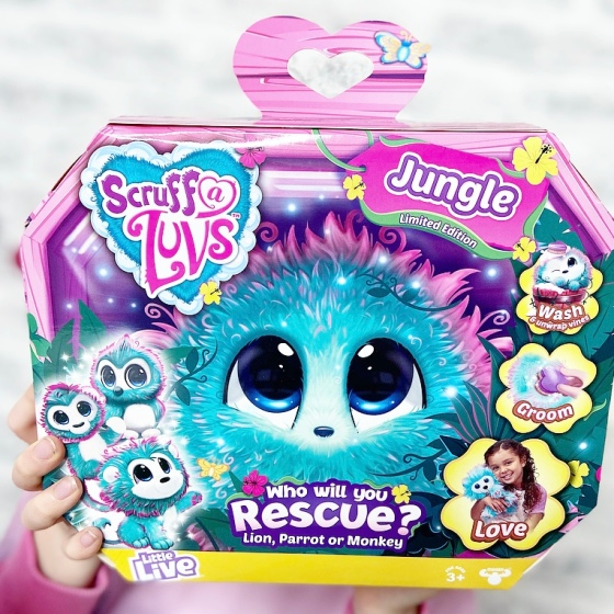 Scruff-A-Luvs Spring Babies, Jungle and Friends Review
