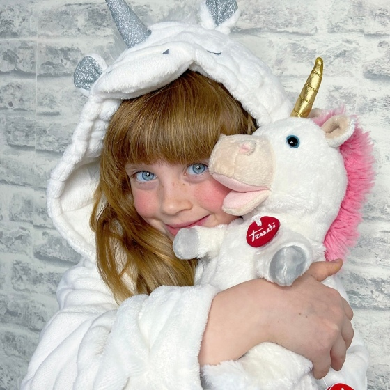 Trudi Soft Toy Unicorn Puppet