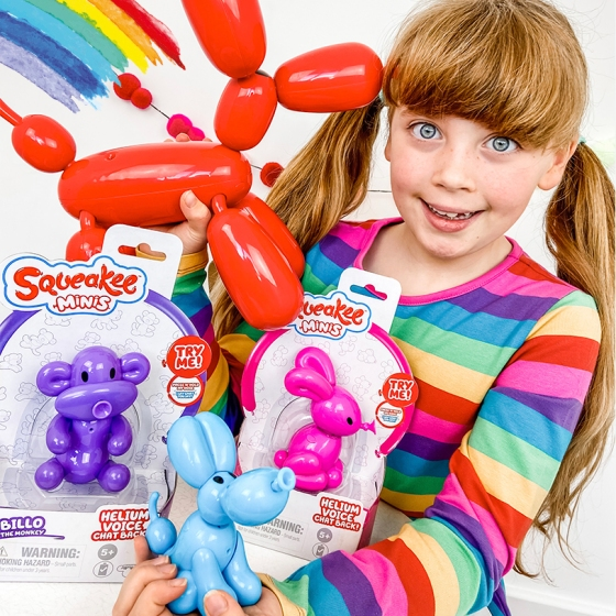 Squeakee Minis Review