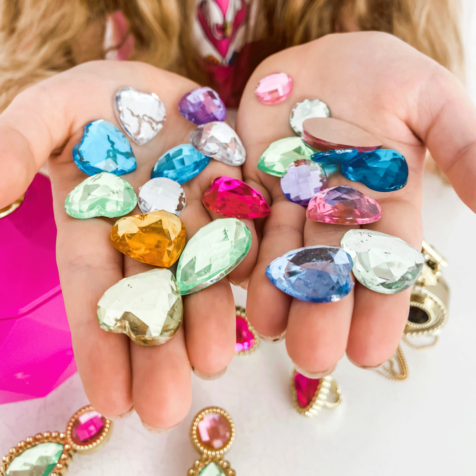 Jewel Secrets Ring Set